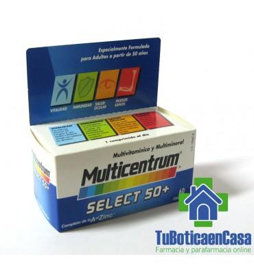 Mulicentrum select 50+ 60 comprimidos