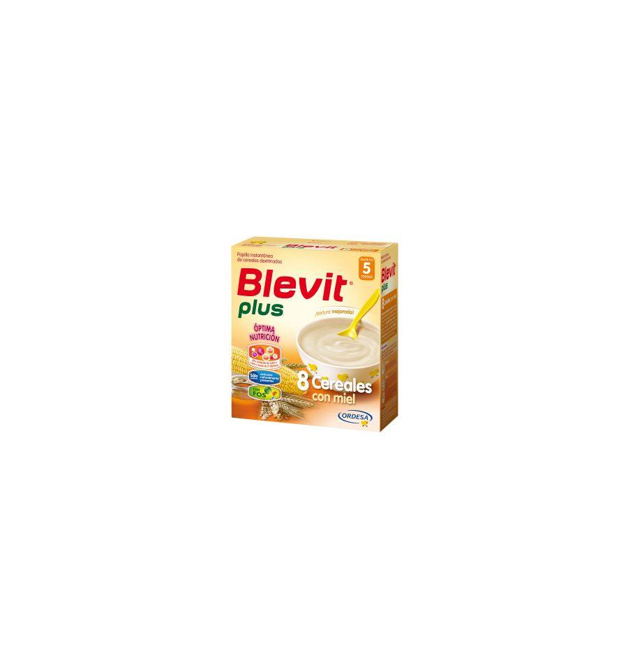 Blevit plus 8 cereales con miel desde 5 meses 600g - Cereales bebe 5 meses ...