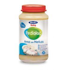 Hero Baby Pedialac potitos Arroz con Merluza 250g desde 8 meses