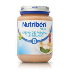Nutriben potitos crema de patatas y lenguado 200g desde 8 meses