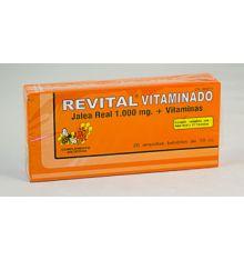 Revital Vitaminado Forte  20 Ampollas 10 cc