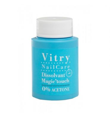 VITRY NAIL CARE disolvente de uñas mágico 75 ml 0% acetona
