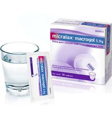 Micralax macrogol 10 sobres, 5,9g