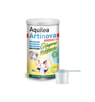 ARTINOVA AQUILEA COMPLEX COLÁGENO + MAGNESIO  sabor a limón 375 gr