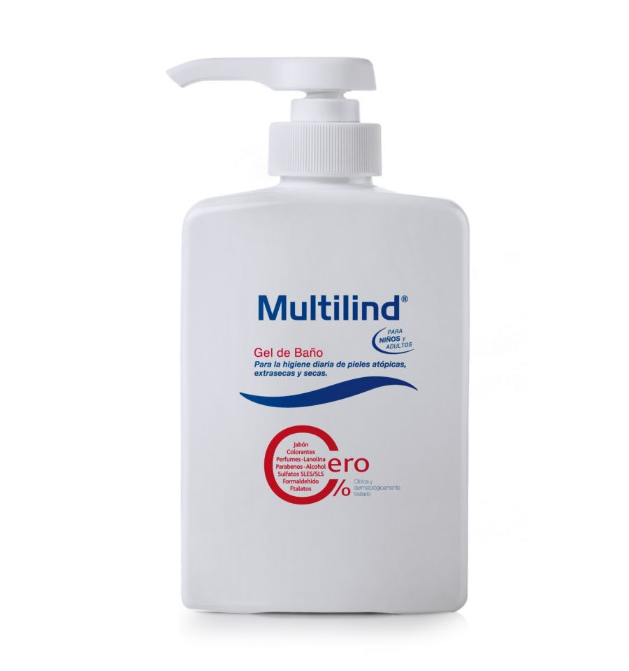 Multilind gel de ba o 500 ml pieles at picas farmacia e g mez beser - Mejor gel de bano ...