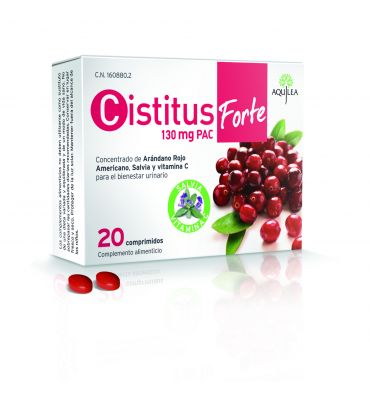 Aquilea Cistitus Forte 20 comprimidos 130 mg