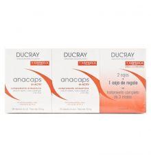 Ducray Anacaps Tri-Activ Triplo 3x30 Cápsulas (1 caja de regalo)